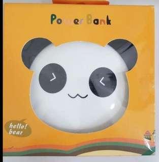 Panda powerbank 12000mah. Brand new
