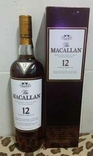 Macallan 12 。麥卡倫 12年