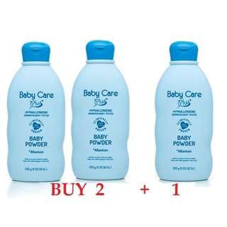 Tupperware Brand - Baby Care Plus+ Blue Baby POWDER 300g - BUY 2+1