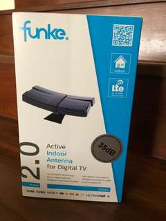 Funke 2.0 active indoor antenna for digital TV