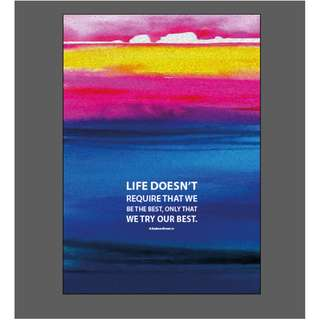 Life Quotes for home, office, gifts Poster