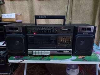 Sony radio kaset