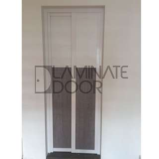 Slide & Swing Toilet Door for HDB, get 2 door at $680