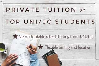 Affordable Private Tuition