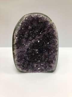 天然紫水晶擺設