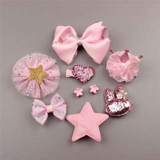 10 PCS Baby Headdress Set Girl