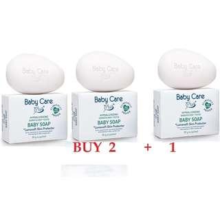 Tupperware Brand - Baby Care Plus+ Baby WHITE SOAP 90g - BUY 2+1