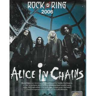 Alice In Chains Rock Am Ring 2006 DVD