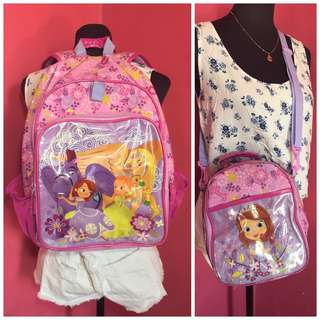 kids school Backpack and lunchbox
