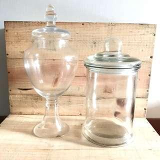 Apothecary Glass Jar, Dessert table glass jar