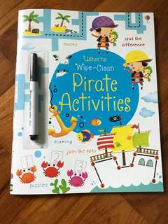 Usborne wipe clean ready for writing