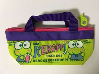 Kerokerokeroppi筆袋/化妝袋