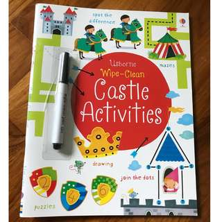 Usborne Wipe Clean Activities Book