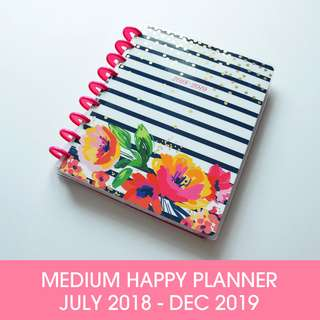🚚 2018 - 2019 Classic Happy Planner® - Garden Party