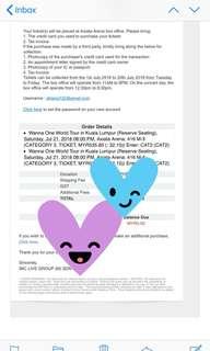 Wanna one in Kuala Lumpur (KL) tour tickets