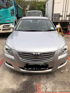 Car Rental, Toyota Camry 2.4L Daily, Weekends, Weekly & Monthly.