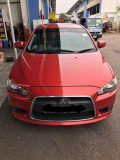 Car Rental, Mitsubishi Lancer EX 2.0 GT Daily, Weekends, Weekly & Monthly.