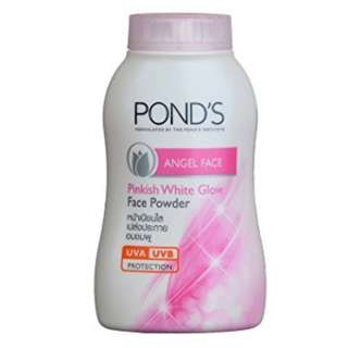 🚚 POND'S Face powder Angel Face Pinkish White Glow UVA /UVB Protection 50 g.