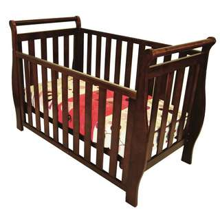 Sleigh 3 in1 Baby Cot