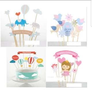 Cake Topper Set