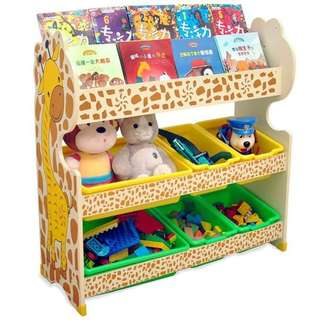 NEW GIRAFFE STORAGE RACK 6 BOX