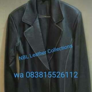 Jaket kulit wanita,asli kulit domba 100%