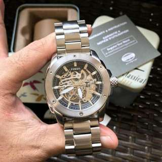 New !! Fossil Modern Machine Skeleton Automatic ME3081 (pre-order)
