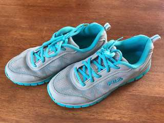 FILA Running/Walking Shoes (Blue)