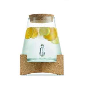 6.2L Cork & Glass Drink Dispenser