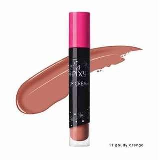 Pixy Lip Cream - 11 Gaudy Orange