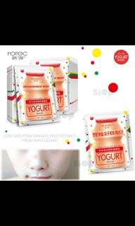 rorec yogurt mask sheet