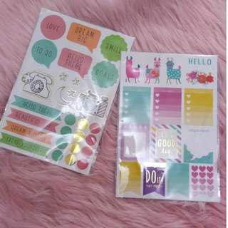 Recollections Sticker Sheets 120 pcs each