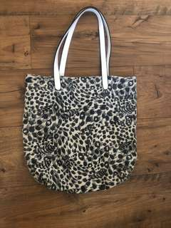 Mocha Leopard Bag