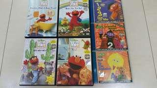 Elmo World & Sesame Street (DVD)