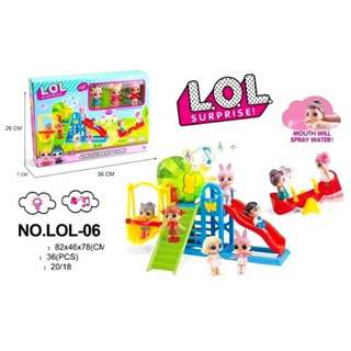LOL SURPRISE DOLL GIRLS LIGHTED MUSICAL AMUSEMENT PLAYGROUND PARK TOYS