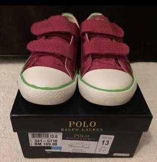 Polo Ralph Lauren Kids Sneaker (size 13) 21cm