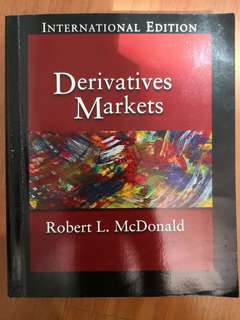 Derivatives Markets Robert Mcdonald