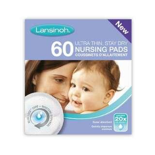 🚚 Lansinoh Disposable Nursing Breast Pads, 60 pcs