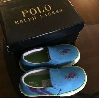Ralph Lauren toddler boy Shoes (size 8) 16cm