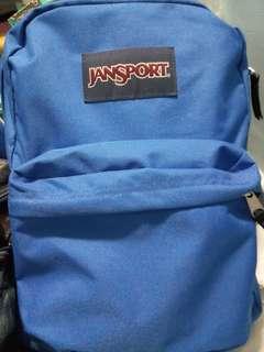 藍色Jansport書包