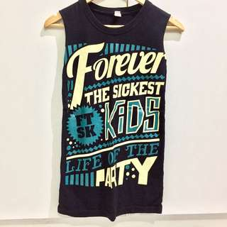 Forever the Sickest Kids Customized Muscle Tee