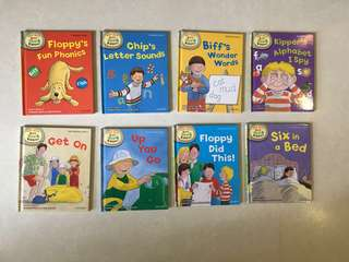 Oxford Reading Tree Read With Biff, Chip, and Kipper: Level 1: Pack of 8 Oxford Reading Tree Read With Biff, Chip, and Kipper: Level 1: Pack of 8
