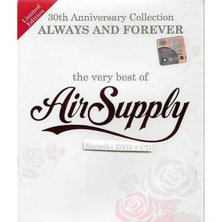 Air Supply The Very Best of 30th Anniversary Collection Karaoke DVD+CD