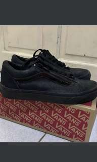 VANS OLD SKOOL ZIP IN PATENT CRACKLE