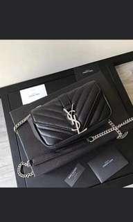 BUNDLE DEAL Ysl Monogram Sling Chanel Fancy WOC