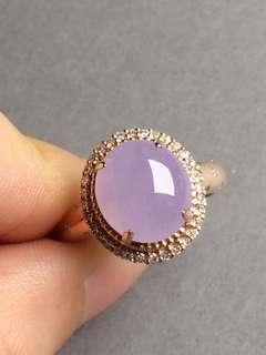 完美紫羅蘭戒指