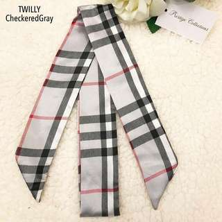 Checkered Gray Twilly