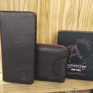 ARROW wallet set promotion