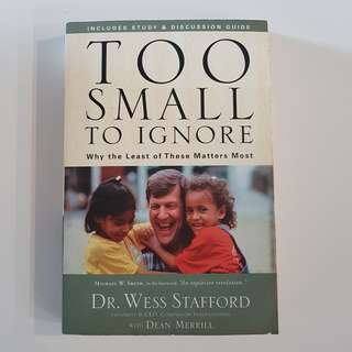 Christian Book - Too Small To Ignore
