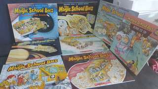 The Magic School Bus. 8 Books for $20